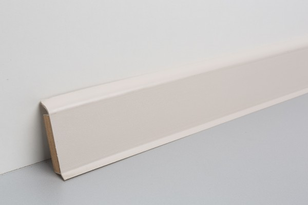 Kernsockelleiste Vinyl MHV 60 creme unifarben