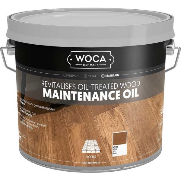 WOCA Maintenance Pflegeöl Weiß, Inhalt: 2,5 Liter