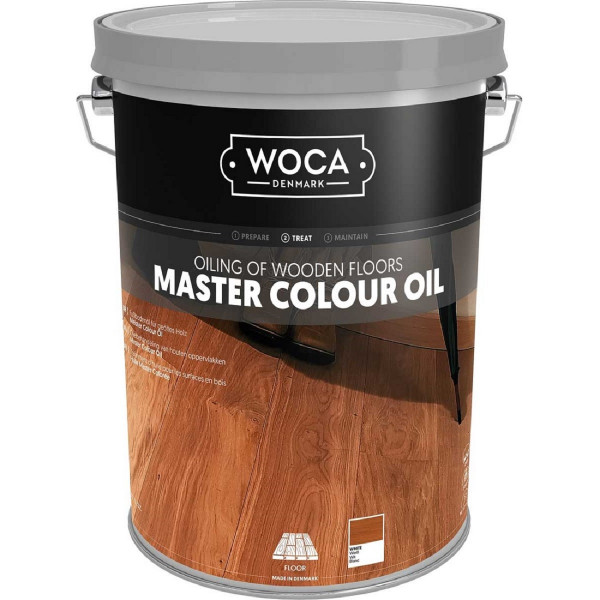 WOCA Meister Colour Öl Weiss, Inhalt: 5 Liter