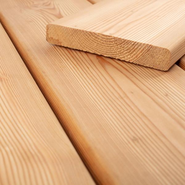 FANO Holz Terrassendiele Lärche sibirisch 27 mm, glatt