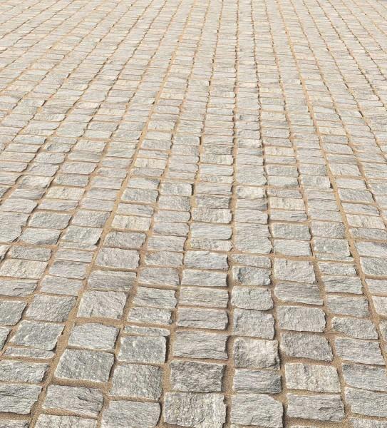 Allstars Designboden mineralisch Design Pflasterstein, Corus-Lackierung