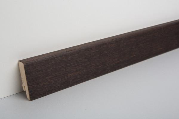Sockelleiste furniert MKF 50 Eiche kerngeräuchert, geölt 18x50x2500mm