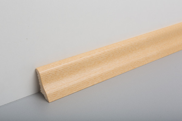 Sockelleiste furniert MGF 40 Esche Natur lackiert 19x39x2500mm