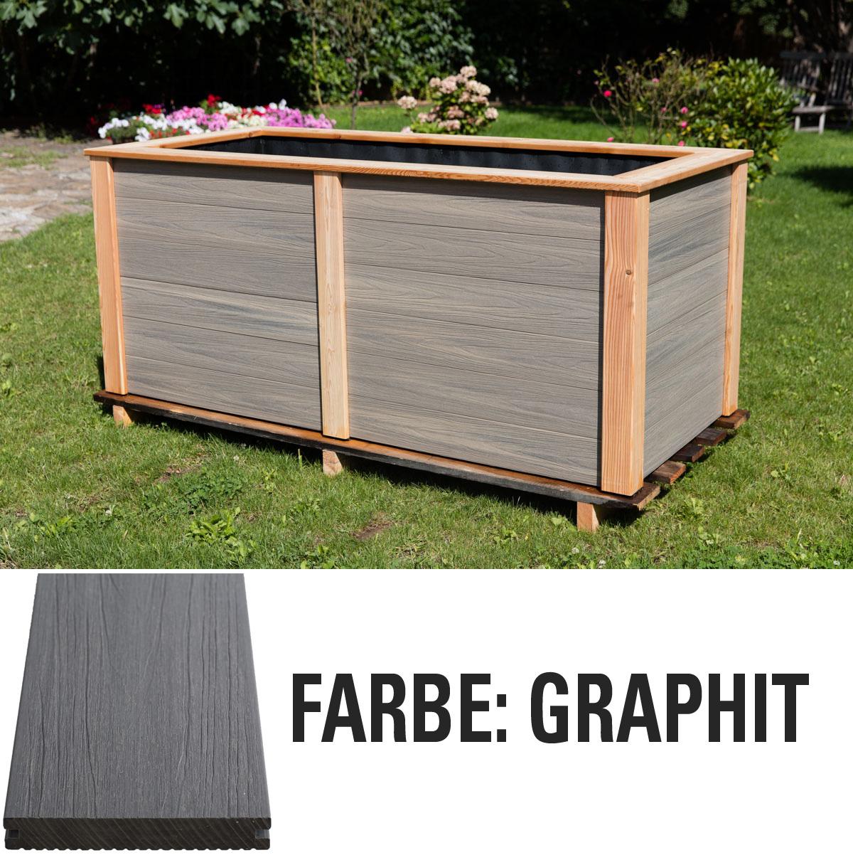 wpc bausatz hochbeete garten meyer parkett online shop. Black Bedroom Furniture Sets. Home Design Ideas