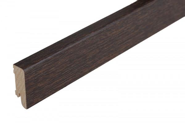 Bodenleiste furniert MHF 50 KING Arabica, matt lackiert