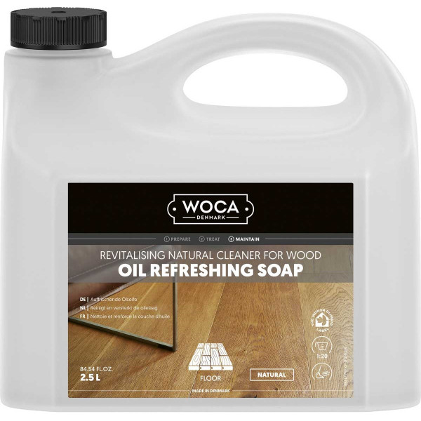 WOCA Öl-Refresher Natur, Inhalt: 2,5 Liter