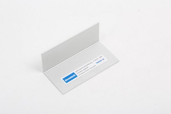 L-Profil aus Aluminium aluminiumgrau