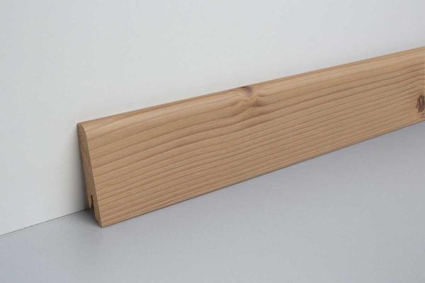 Laminat Sockelleiste foliert mit MDF-Kern Inverey Pinie dunkel 17x60x2400mm