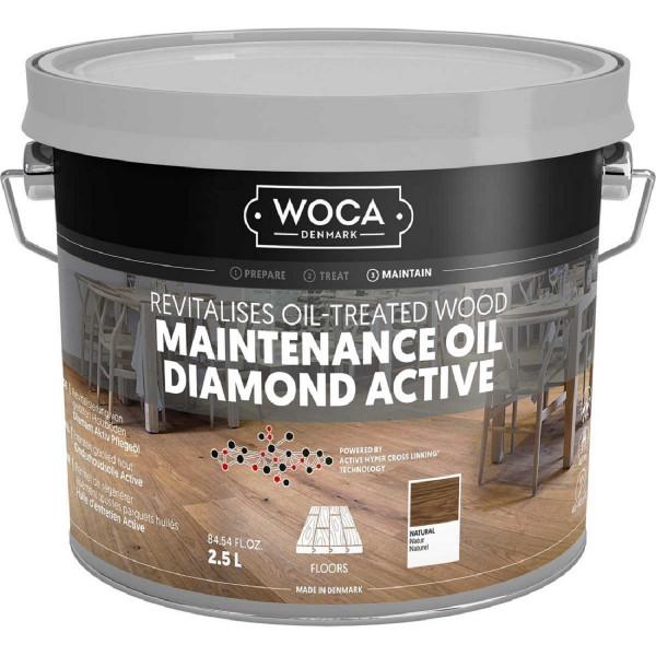 WOCA Diamant Aktiv Pflegeöl Natur, Inhalt: 2,5 Liter